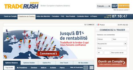 Méfiez-vous de Traderush au Canada aussi !   Bourse   Scoop.it
