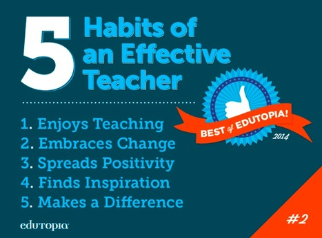 11 Habits of an Effective Teacher | Veteran & Education Issues | Scoop.it