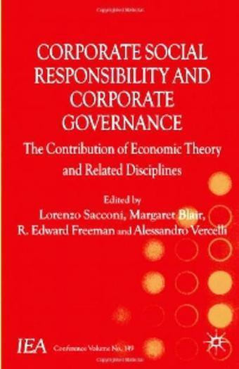 Corporate Social Responsibility and Corporate Governance: The Contribution of Economic Theory and Related Disciplines » Free For You Download Everything | Corporate purpose | Scoop.it