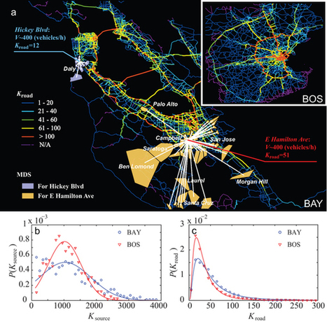 Understanding Road Usage Patterns in Urban Areas : Scientific Reports : Nature Publishing Group | human geography | Scoop.it