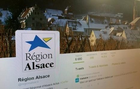 Réseaux sociaux: L'Alsace est l'une des régions les plus actives sur Twitter | Le site www.clicalsace.com | Scoop.it
