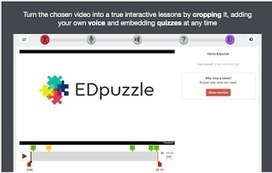 5 Great Web Tools for  Creating Video Lessons | Language Learning: Digital tools and virtual spaces | Scoop.it