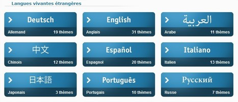 Langues en ligne : modules d'enseignement prêts à l'emploi | Language in technology | Scoop.it