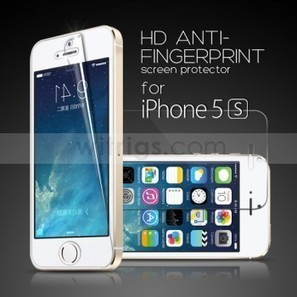 HD Anti-Fingerprint LCD Screen Protector for Apple iPhone 5S - Witrigs.com | Do iphone 5s need screen protectors | Scoop.it