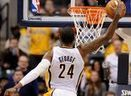 VIDEO: Paul George dazzles the crowd with a 360 dunk | Winning The Internet | Scoop.it