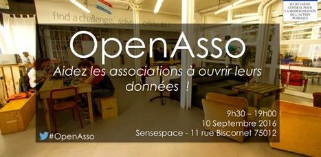 #OpenAsso le 10 septembre : aidez les associations à ouvrir leurs données   Le blog de la mission Etalab   Associations - ESS - Participation citoyenne   Scoop.it