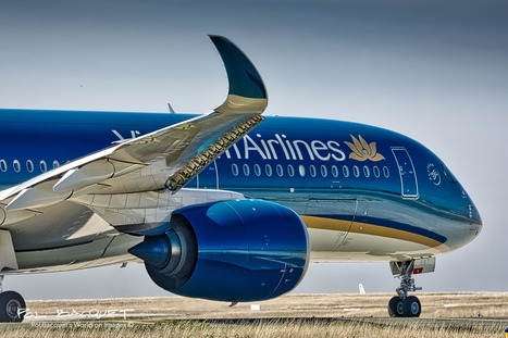 Vietnam Airlines Airbus A350 in Paris | Aviation & Airliners | Scoop.it