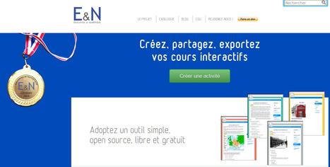 Créez, partagez, exportez vos cours interactifs | TICE, Web 2.0, logiciels libres | Scoop.it