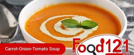 Carrot Onion Tomato Soup | Food | Scoop.it