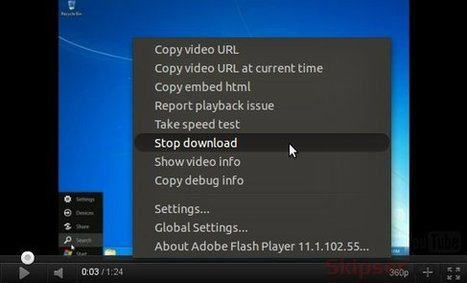 Prevent Youtube From Bufferring a Paused Video. | SocialMediaDesign | Scoop.it