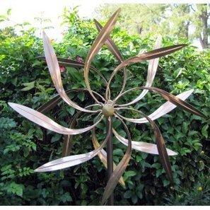Garden Metal Wind Spinner | Porch, Patio and Outdoor Decor | Scoop.it