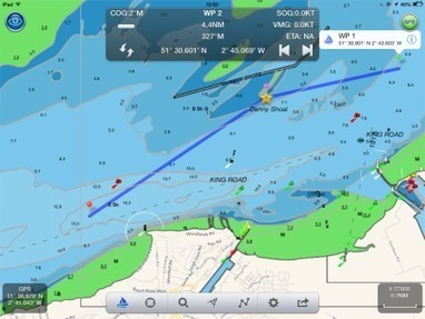 Using an iPad for marine navigation - a Digital Yacht white paper | Apps for iOS – Highlights | Scoop.it