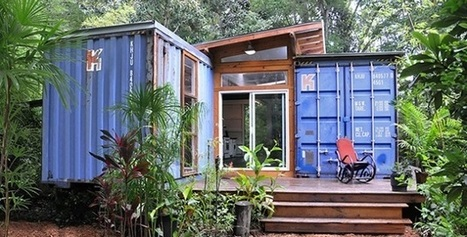 It Looks Old And Rusty, But Inside This Shipping Container Is A Ravishing Home! | Archivance - Miscellanées | Scoop.it