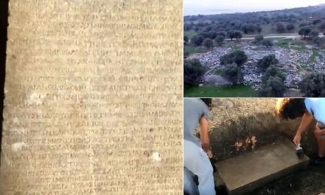 2,200-year-old marble slab may be the world's oldest tenancy contract | Visit Ancient Greece | Scoop.it
