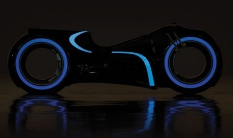 'Tron' Lightcycle Up For Auction | Heron | Scoop.it