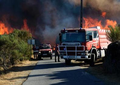 Portugal: 900 pompiers luttent toujours contre les incendies   DZ-mag.net   Scoop.it