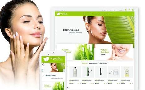 Organic cosmetics - Responsive Prestashop Theme for Online Cosmetic, Fashion and Beauty Stores   platinastudio   Scoop.it