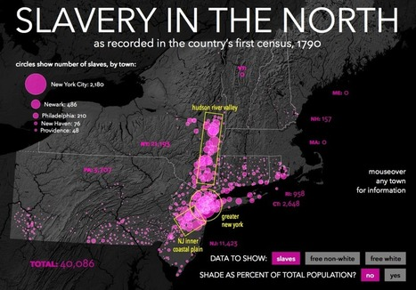 Mapping Slavery in the North | Humanidades digitales | Scoop.it