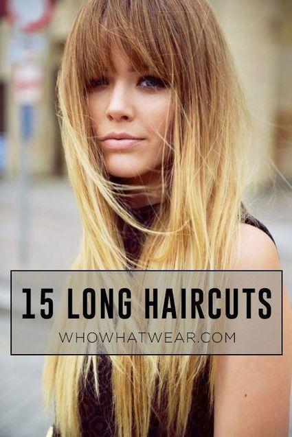 The 15 Best Long Haircuts For EVERY Type of Texture | Hair There and Everywhere | Scoop.it