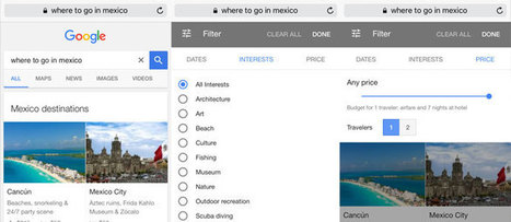 SEO alert: Google overhauls its travel search interface for mobile | Tourism Social Media | Scoop.it