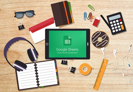 4 Creative Uses of Google Sheets in the Classroom - EdTechTeacher | PBL | Scoop.it