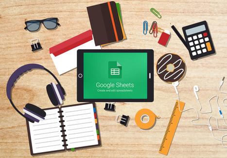 4 Creative Uses of Google Sheets in the Classroom - EdTechTeacher | tics | Scoop.it