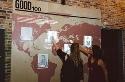 RTO+P's Maker Studio Builds Giant Interactive Map for GOOD Magazine | Raspberry Pi | Scoop.it