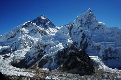 Mount Everest glaciers have shrunk 13% in 50 years | In Deep Water | Scoop.it