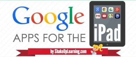 The Guide to Google Apps for the iPad [infographic] – Updated! | Web 2.0 for Education | Scoop.it