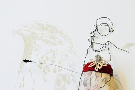Julia Jowett, embroidery artist | Art & Craft | Scoop.it