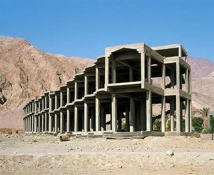 Skeletal hotels on the Sinai Peninsula | Michael John Grist | Modern Ruins, Decay and Urban Exploration | Scoop.it