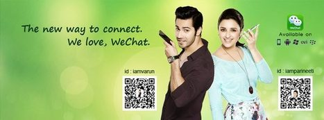 Chinese Messaging App WeChat Ropes In Parineeti Chopra And Varun Dhawan To Reach Out To The Youth | Business 2 Community | Chinese social media | Scoop.it