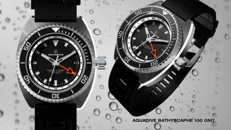 Aquadive Bathyscaphe 100GMT   Watch Magazine   Scoop.it