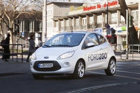 Ford will start familiar-sounding Ford2go carsharing service in Germany | ecosocial internet | Scoop.it