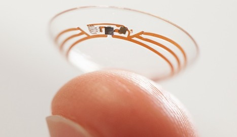 Google Applies for Contact Lens Camera Patent - SiteProNews | Digital-News on Scoop.it today | Scoop.it