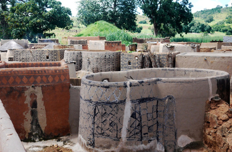 gurunsi earth houses of burkina faso | AL_TU research | Scoop.it