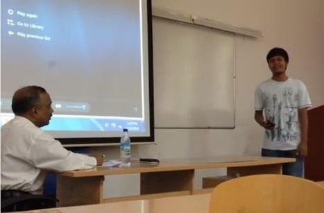 'Crazy Presentation' Inside a Classroom at SIBM,Pune - OutScream | outscream | Scoop.it