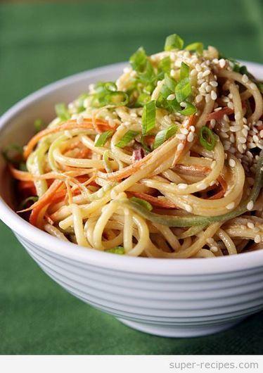 Sesame Noodles | Recipes | Scoop.it