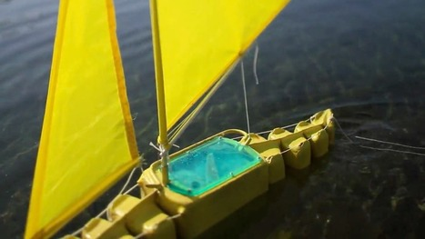 Designing Sailbots to Mop Up Oil Spills | Encounters with the ocean | Scoop.it