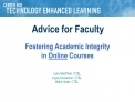 Fostering Academic Integrity in Online Courses | Academic cheating | Scoop.it