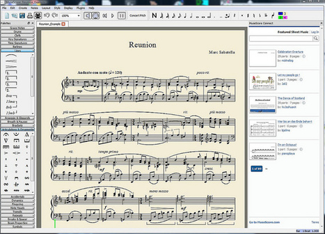 MuseScore 1.2 is released | Toulouse networks | Scoop.it