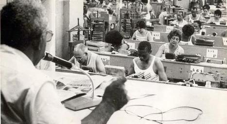 "Cuba reconhece o ""leitor de tabaqueira"" como património cultural - RTP   Arte de cor   Scoop.it"