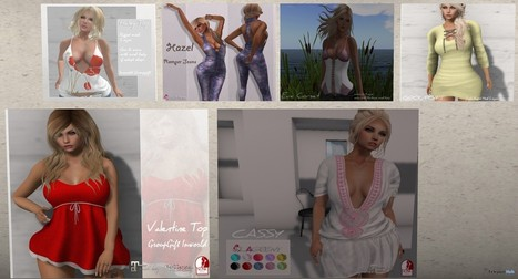 Six Outfits and Dresses Group Gifts by LAGEENY fashion | Teleport Hub - Second Life Freebies | Second Life Freebies | Scoop.it