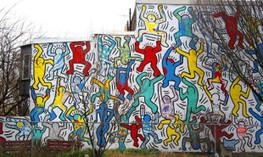 Accueil / Keith Haring, pionnier du street art, renaît à Philadelphie - 20minutes.fr | calligraphik | Scoop.it