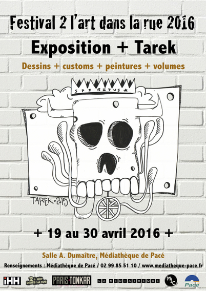 Exposition + Tarek à Pacé | Bande dessinée et illustrations | Scoop.it