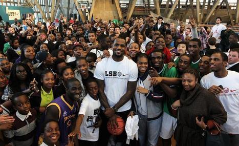 LeBron James doa US$ 41 milhões de dólares para enviar 1100 jovens para a universidade | Inovação Educacional | Scoop.it