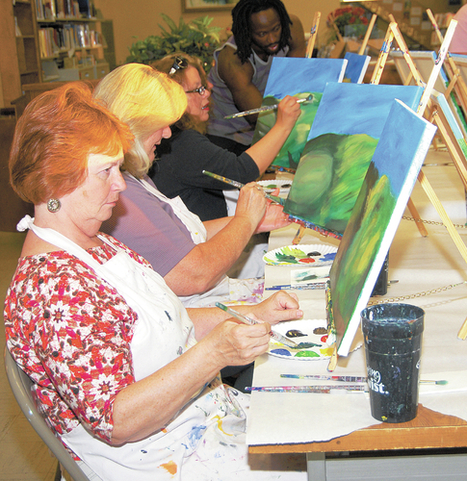 Brush works at Maury County Public Library | Tennessee Libraries | Scoop.it
