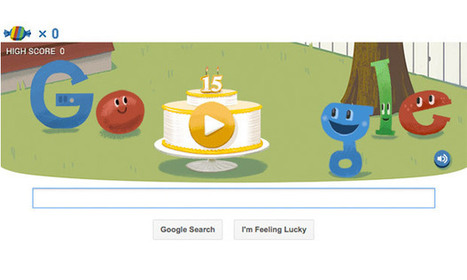A Google Google doodle? Search giant celebrates 15 years and a new algorithm | Strategic Business Management | Scoop.it