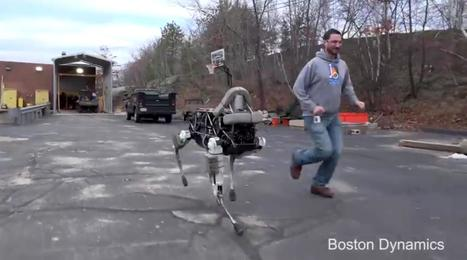 Here, Spot! See Boston Dynamics' New Robot Dog Run (and Climb) | Remarkable technology | Scoop.it