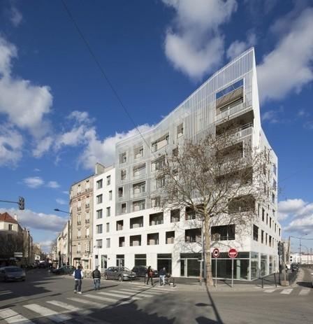 [Saint-Denis, France] Social Housing Units / Atelier du Pont | The Architecture of the City | Scoop.it